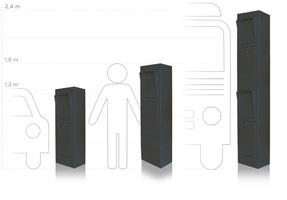 Einfahrsäulen
